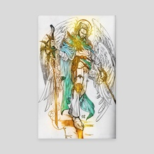 Seraphim the Fiery one  - Canvas by Fuge Nguyen