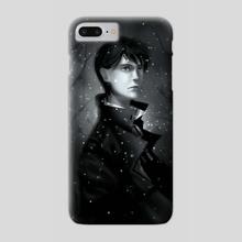 Falling snowflakes - Phone Case by Alexandra Krylatkova