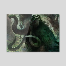 Thorn Mammoth - Acrylic by Svetlin Velinov