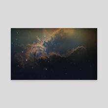 Space Nebula - Canvas by Daniel Schmelling