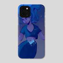 The deep blue - Phone Case by Angelica Fatourou