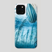 View From The Deep - Phone Case by Abigail Clarke