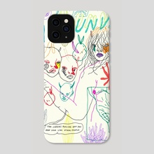 trust issues - Phone Case by Ines J.