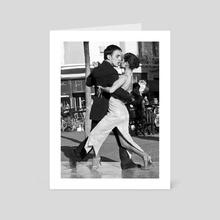 Dancing - Art Card by Flavia Raddavero
