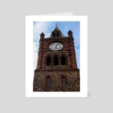 Guildhall  - Art Card by Amanda Carey