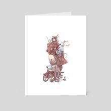 Cavalry print - Art Card by Max Prentis