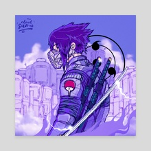 Neo Sasuke - Canvas by Cloudsamu