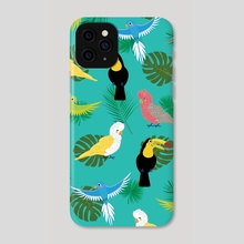 Tropicanna - Phone Case by Anna Nguyen
