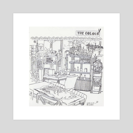 cafe croquis 00 by kim sunny