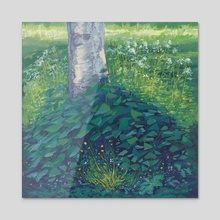 Hidden Magic - Acrylic by Maddy