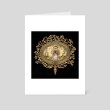 Mirror Queen - Art Card by Amy Putney Koenig