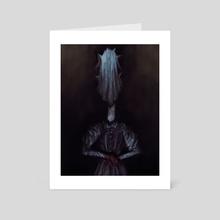 Sister of Cuts - Art Card by Trevor Henderson