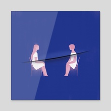Hurt - Acrylic by Jasu Hu