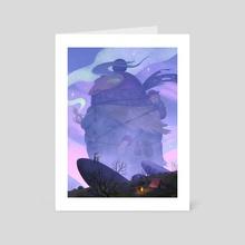 The Wandering Mother - Art Card by Matt Rockefeller