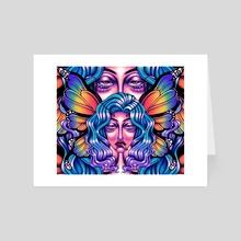Butterfly eyes - Art Card by C.E. bohm