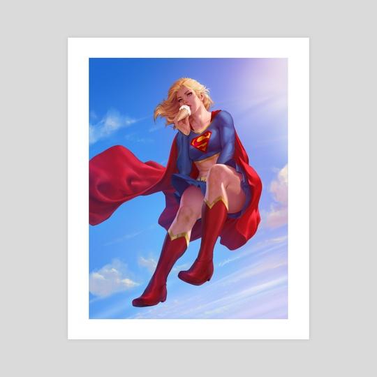 Supergirl by Krystopher Decker