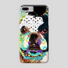 Bulldog - Phone Case by Marcia Pinho
