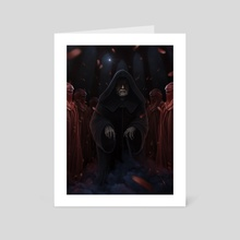 palpatine and the imperors royal guard - Art Card by Giordano Aita