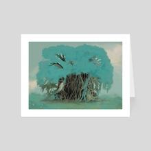 Balete tree - Art Card by Alexandra Sevilla