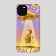 Dream High, Stay Low  - Phone Case by Kind Gotospace