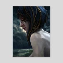 Lena - Canvas by Eric Paints