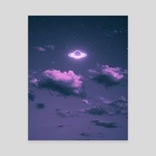 Sky Vibes 6 - Canvas by Suvam