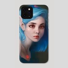 Elfish princess - Phone Case by Magda Proski