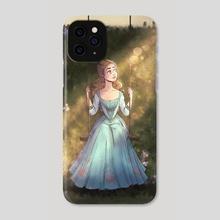 Cinderella s Garden - Phone Case by Gabriela Costa