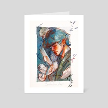 'Singularity' Tae - Art Card by Buhuhu Art