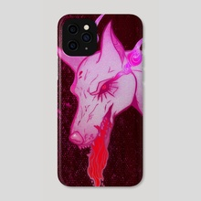 rage - Phone Case by Prufag