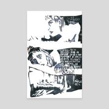 parles-moi - Canvas by Lan Prima
