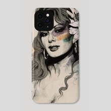 Edwige - Phone Case by Marco Paludet