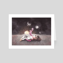 Lost far away from home - Art Card by Rouble Rust