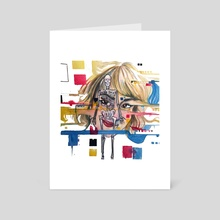 The Glitch - Art Card by Jamie Phanekham