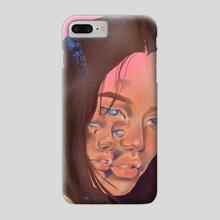 Gemini - Phone Case by L Reeve