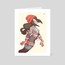 Tsuyu - Art Card by Tyto Alba