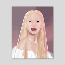 The Albino Series - 3 - Acrylic by Renike