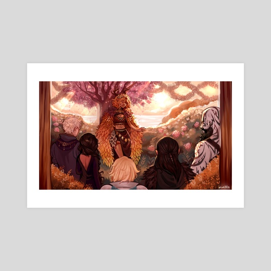 Keyleth's Coronation by Lara B