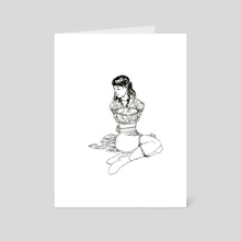 Shibari 09 - Art Card by Patryk