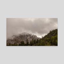 Deqen 8 - Yunnan - China - Canvas by Tom Brandon