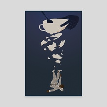 The Sunken Place - Canvas by Zakiya Noel