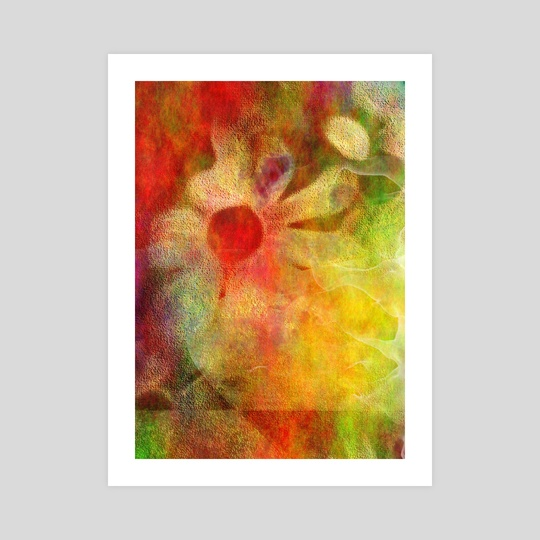 Floral abstract by Bruce Rolff