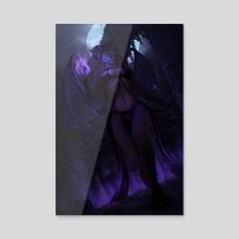 Hell Dweller - Acrylic by Angelika Blieweis