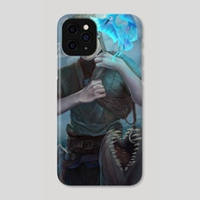 Aegir, the fisher - Phone Case by Ivan Garcia
