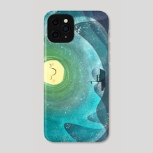 We'll Brave This Storm Together - Phone Case by dave mcmahon