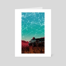 El Camino - Art Card by Rachel Smartt