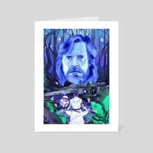Ghost of Dagobah - Art Card by Hector Grois