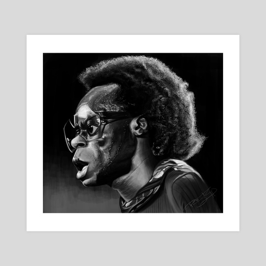 Miles Davis by Priyatham Sri
