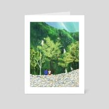 Lost Stars - Art Card by Cindy Kang
