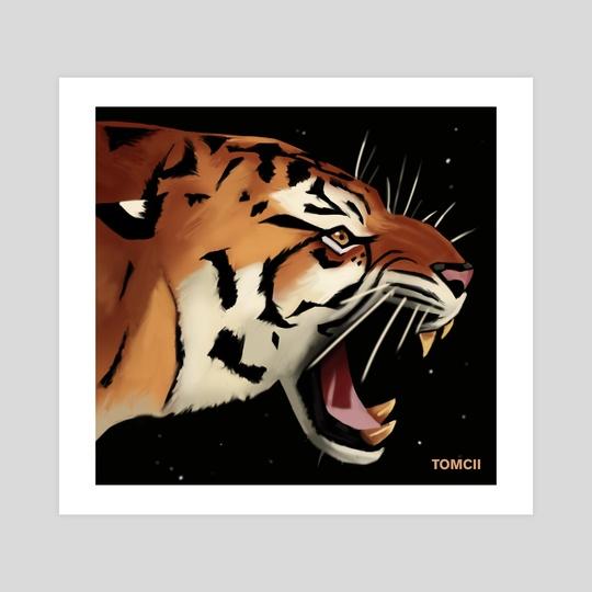 Tiger by Tomcii Art